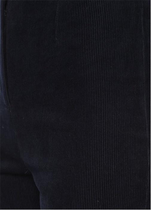 Lacivert Bol Paça Pantolon