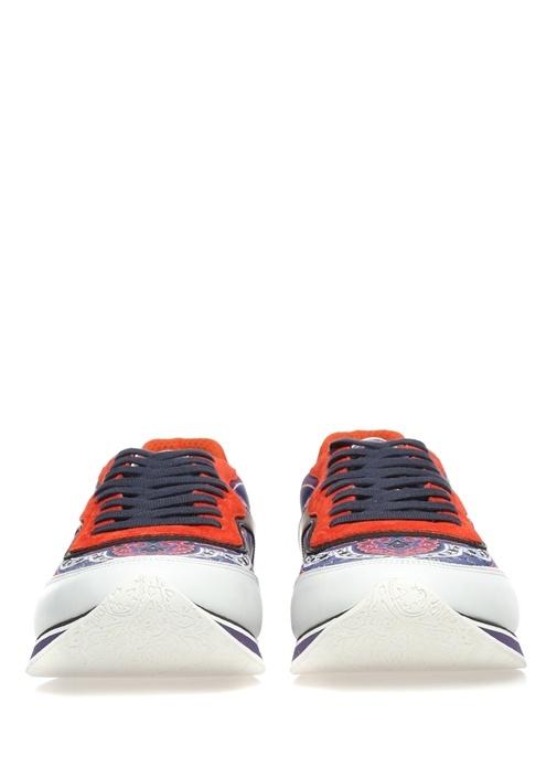 Panelled Colour Block Kırmızı Erkek Sneaker