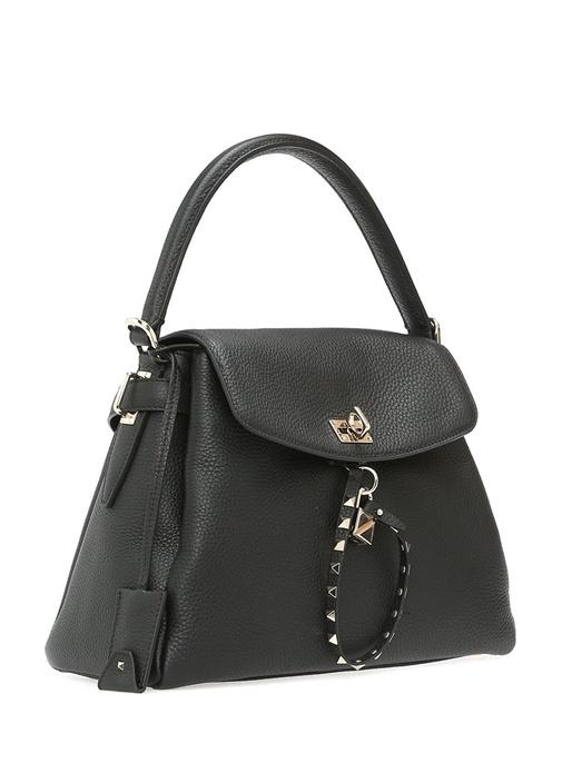 Valentino Garavani Siyah Kadın Deri Çanta
