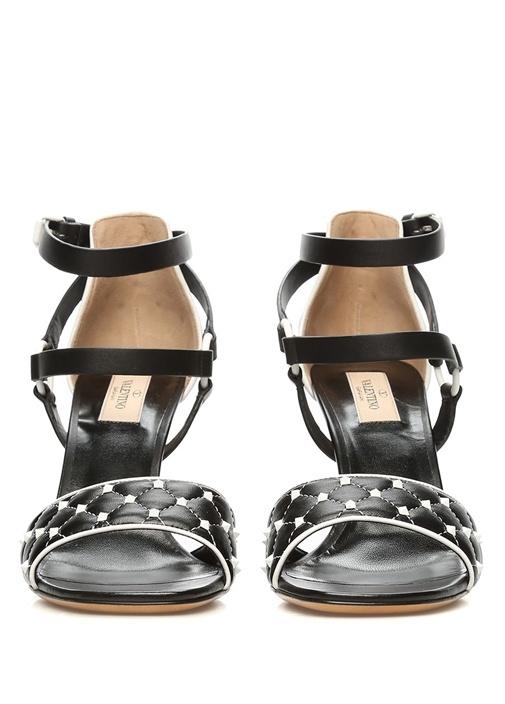 Valentino Garavani Siyah Free Sandalet