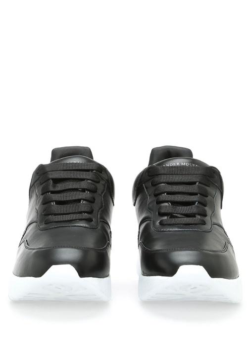 Runner Deri Siyah Erkek Sneaker
