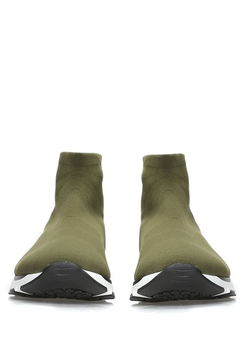 Haki Erkek Çorap Sneaker