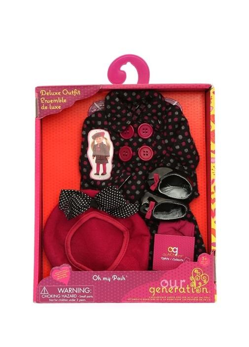 Deluxe Suit Outfit Oyuncak Bebek Aksesuar Seti