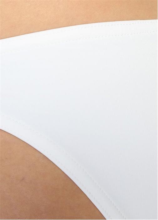 Beyaz Basic Bikini Altı