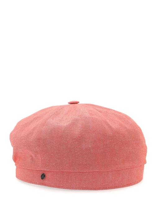 Kırmızı Erkek Kasket Şapka
