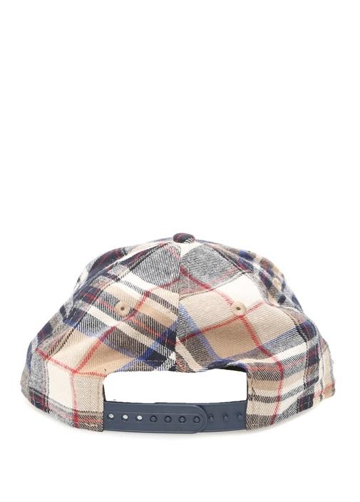 New York Yankees Mavi Ekose Desenli Erkek Şapka