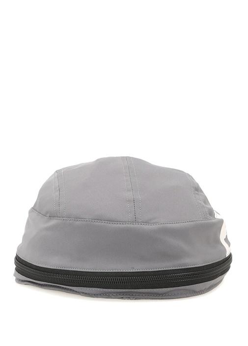 Eqt Gri Baskılı Erkek Şapka