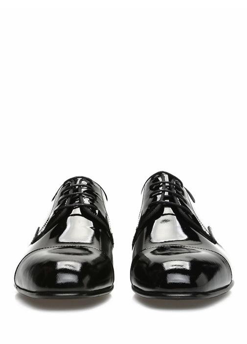 Siyah Erkek Rugan Smokin Ayakkabısı