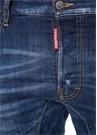 Tidy Biker Lacivert Yıpratma Detaylı Jean Pantolon