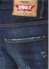 Skinny Mavi Normal Bel Yıpratmalı Jean Pantolon