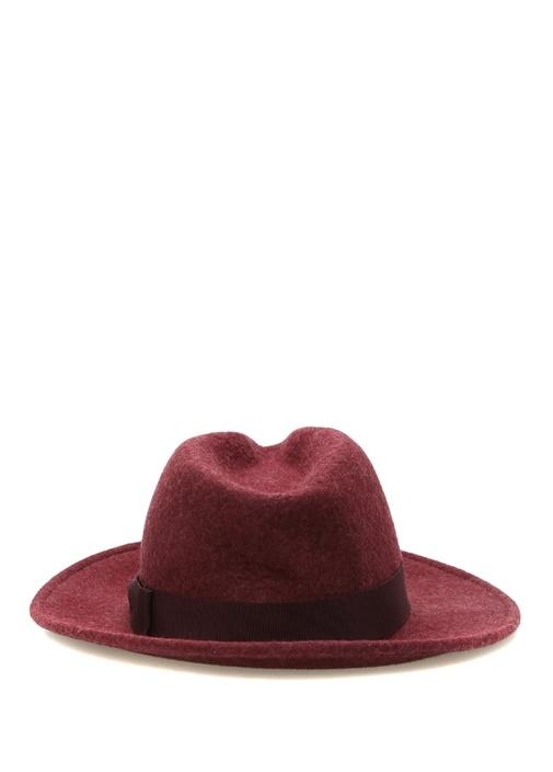 Bordo Erkek Yün Şapka