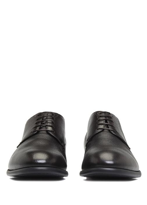 Kahverengi Dokulu Erkek Deri Ayakkabı