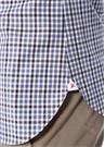 Beyaz Pötikareli Düğme Yakalı Gömlek