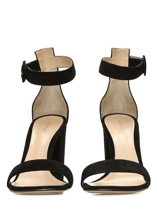 Versilia Siyah Kadın Süet Sandalet