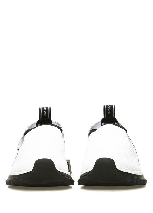 Sorrento Beyaz Geometrik Tabanlı Kadın Sneaker