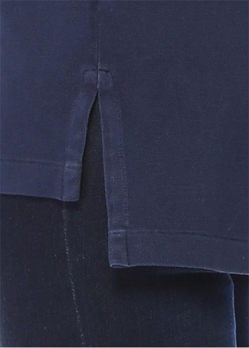 The Big Shirt Lacivert Polo Yaka LogoluT-shirt