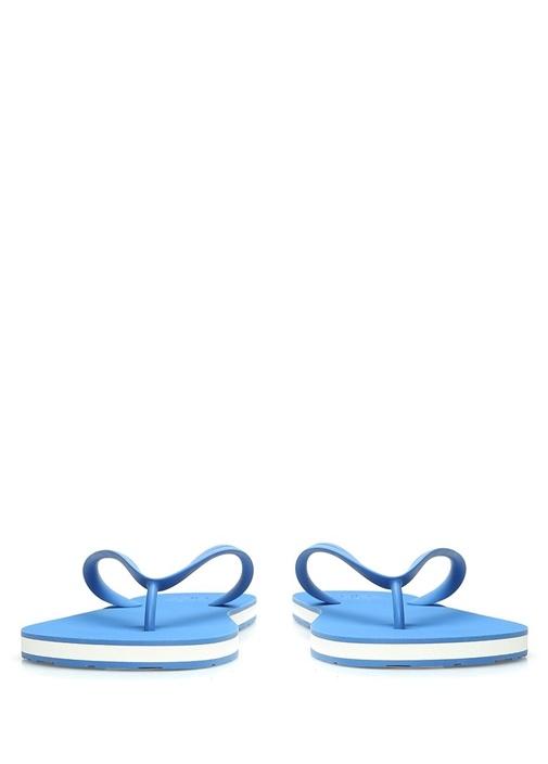 Mavi Logolu Erkek Terlik
