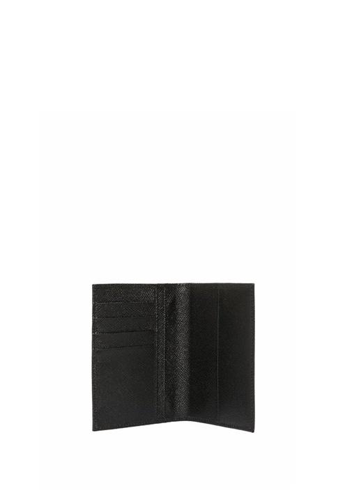 Siyah Dokulu Erkek Deri Pasaportluk