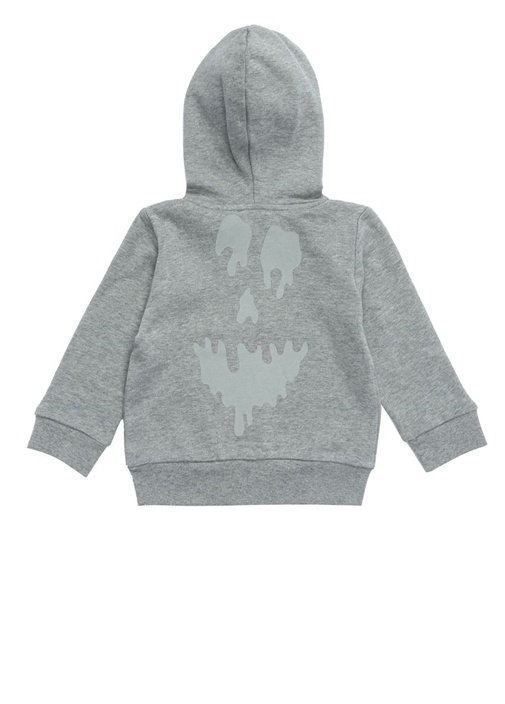 Joplin Gri Kapüşonlu Erkek Çocuk Sweatshirt