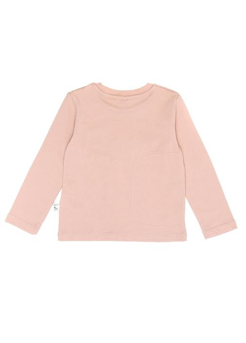 Bella Pembe Çıkarılabilir Patchli T-shirt