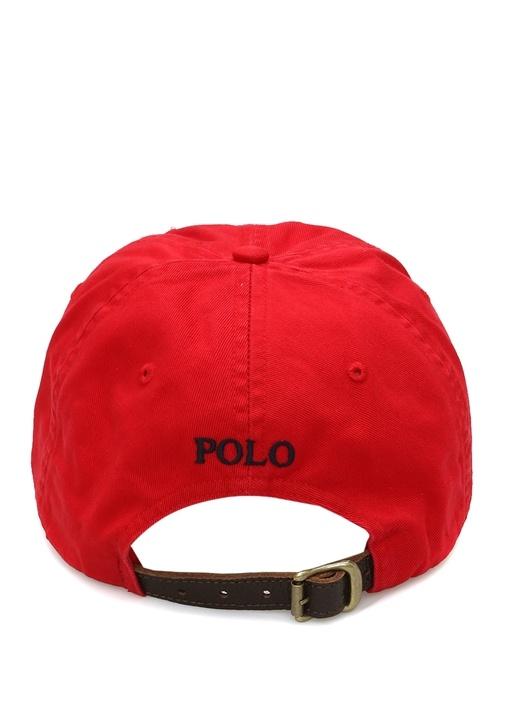 Kırmızı Nakışlı Erkek Şapka