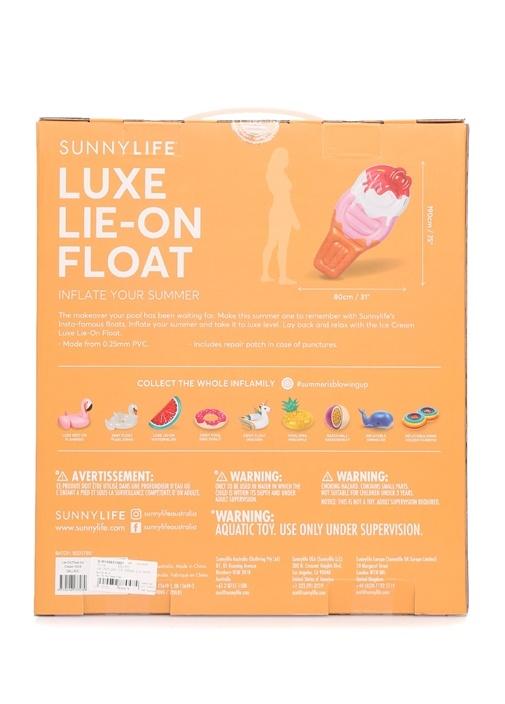 Lie-On Dondurma Formlu Su Yatağı