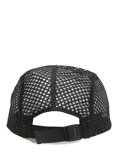 Mesh Siyah File Detaylı Erkek Şapka