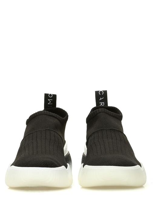 Siyah Çorap Formlı Kadın Sneaker