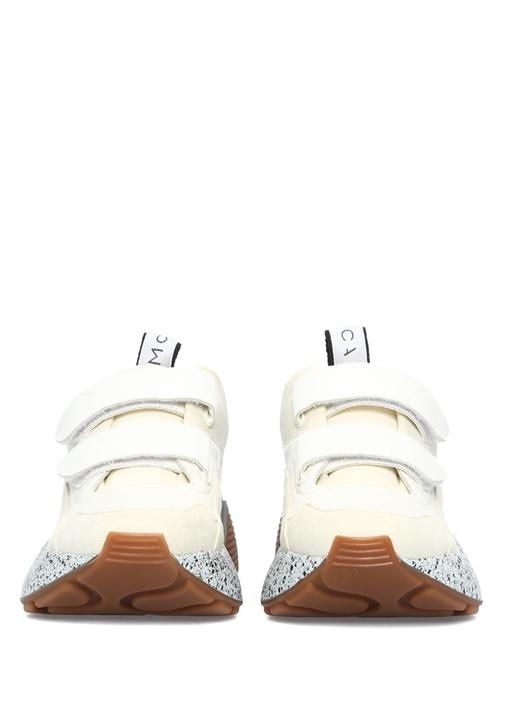 Eclypse Bej Tabanı Renk Detaylı Kadın Sneaker