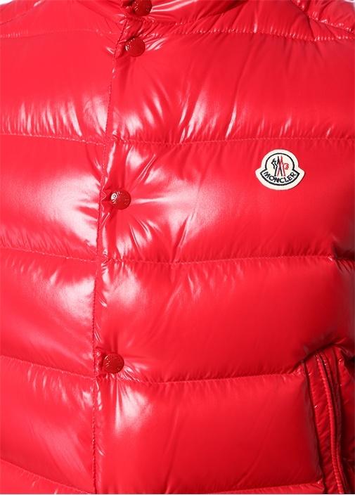 Tib Kırmızı Logolu Puff Yelek
