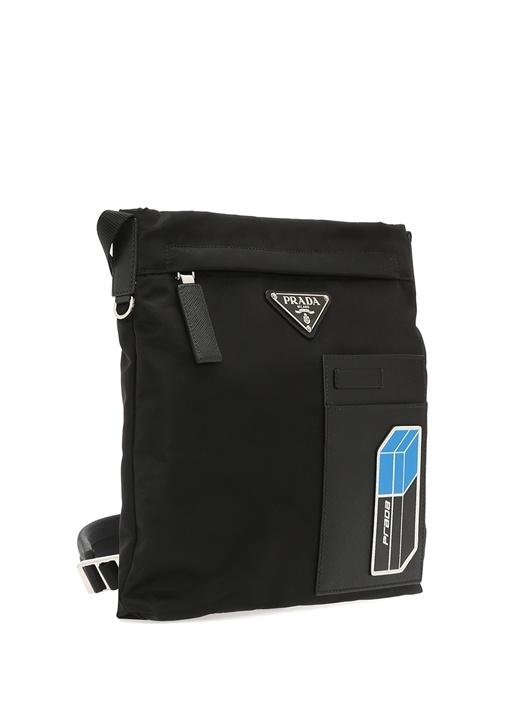 Siyah Logolu Erkek Çanta