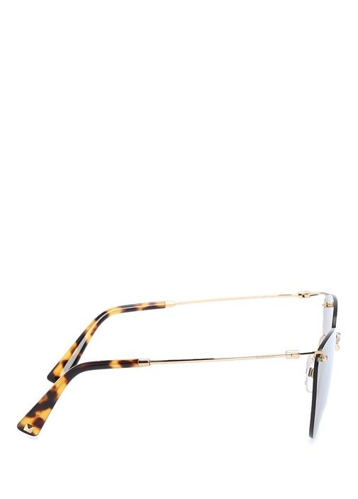 Kahverengi Oval Formlu Kadın Güneş Gözlüğü