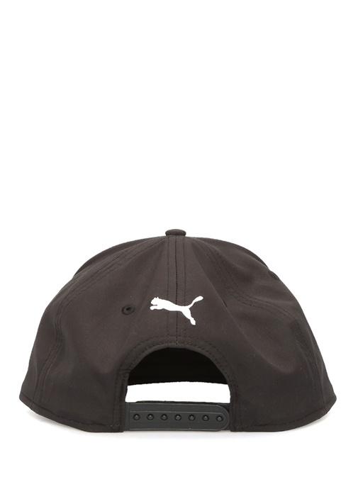 Flatbrim Siyah Logo Jakarlı Erkek Şapka