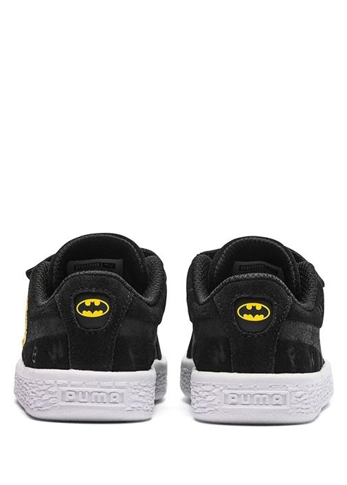 JL Suede Siyah Karakter Logolu Erkek Çocuk Sneaker