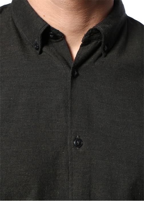 Artynom Haki Düğmeli Yaka Gömlek