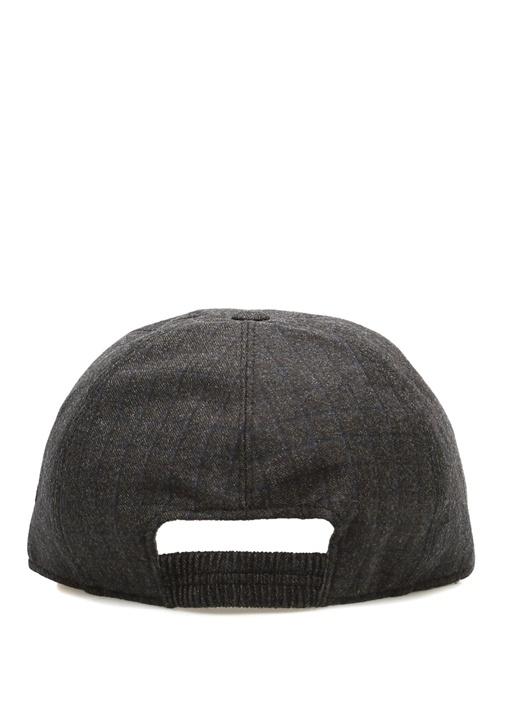 Antrasit Taba Erkek Yün Şapka