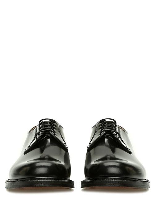 Shannon Siyah Erkek Deri Ayakkabı
