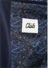 Lacivert Kelebek Yaka İç Astarı Etnik Takım Elbise