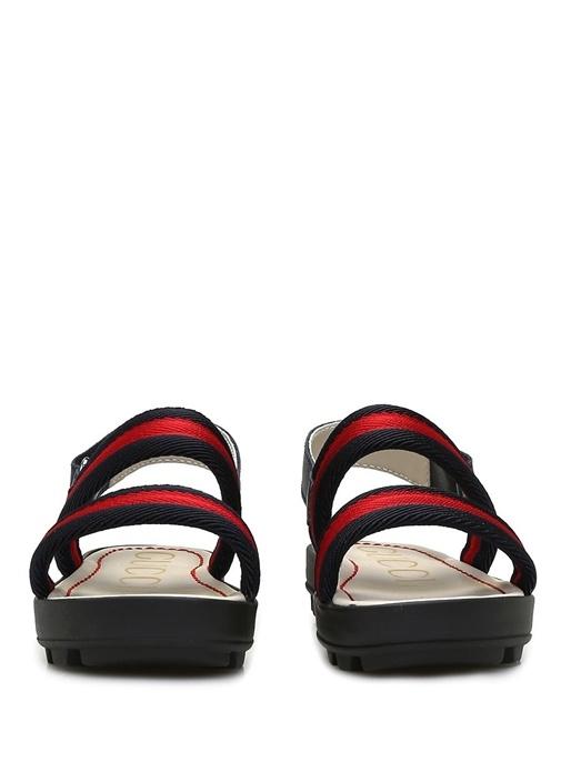Lacivert Kırmızı Çocuk Sandalet