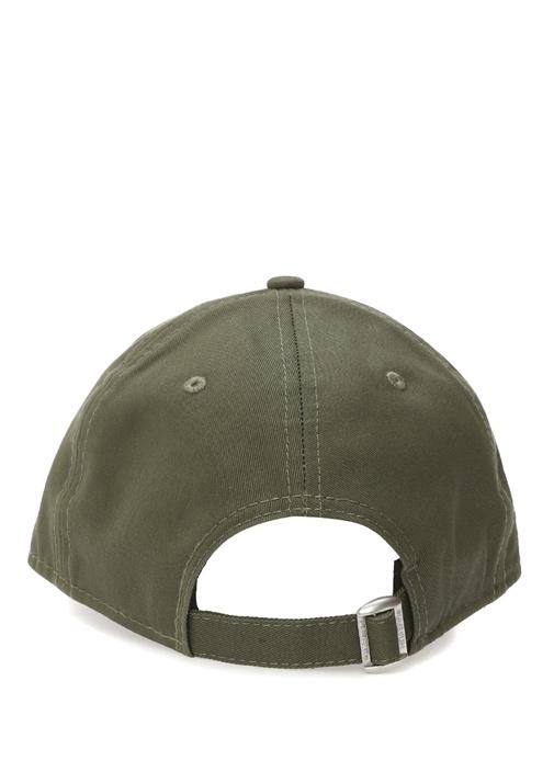 Leag Haki Logo Nakışlı Erkek Şapka