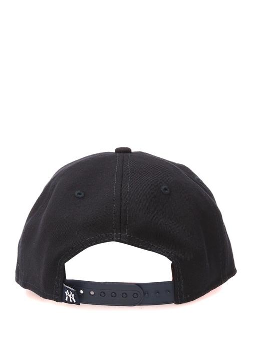 Lacivert Nakışlı Erkek Şapka