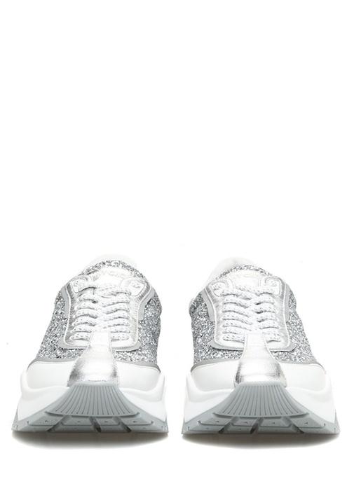 Raine Metalik Silver Parıltılı Kadın Sneaker