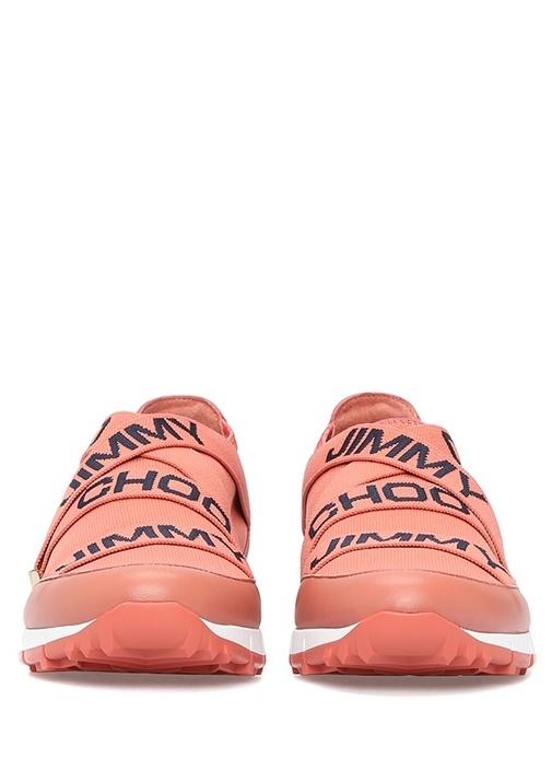 Toronto Pembe Logo Şeritli Kadın Sneaker