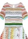 Colorblocked Garnili Kız Çocuk Elbise
