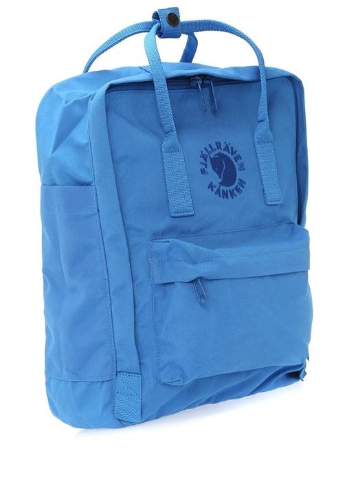 Kanken Mavi Logolu Kadın Sırt Çantası