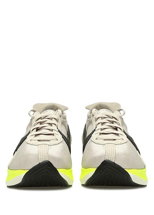 Moon Racer Bej Neon Yeşil Detaylı ErkekSneaker