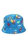 Super DG Baskılı Mavi Erkek Bebek Şapka