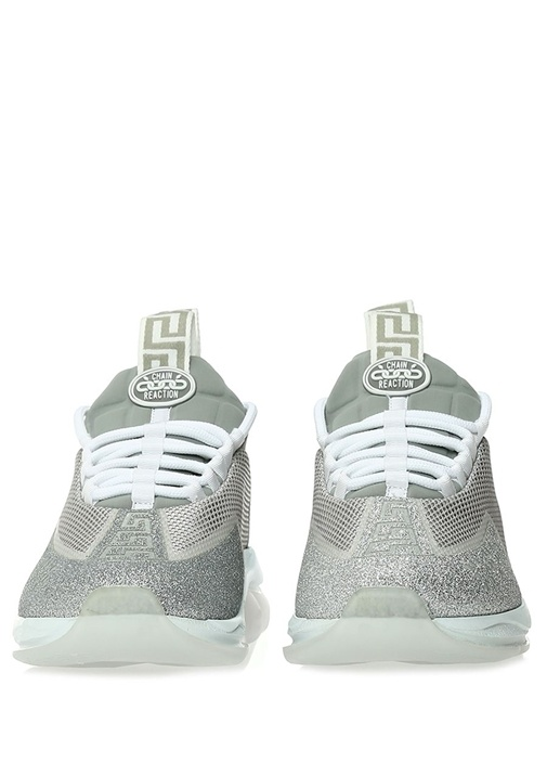 Cross Chainer Gri Simli Kadın Sneaker