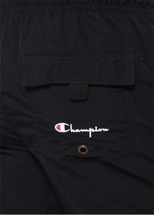 Siyah Logo Nakışlı Mayo