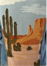 Landscape Sırtı Jakarlı Jean Ceket